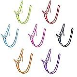 netproshop Knotenhalfter mit Zügel in tollen Farben für Shetty, Pony, Cob, Full Farbauswahl, Groesse:Pony, Farbe:Lila