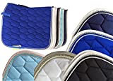 HKM Schabracke -Crystal Fashion-, blau, Pony Dressur