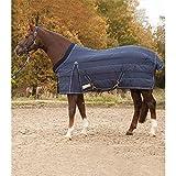 WALDHAUSEN Stalldecke Comfort Line, 100 g, Rückenlänge 125 cm, nachtblau