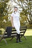 Covalliero Damen Basicplus Größe Reithose, Weiß, 34