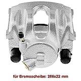 1x Bremssattel Vorderachse rechts für Bremsscheibe: 286x22 mm