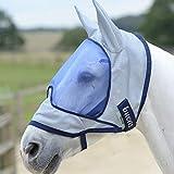 Bucas Buzz-Off Deluxe 145/L Mask & Ears Blue