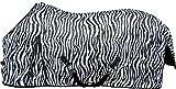 HKM 13134 Fliegendecke Zebra, Pferdedecke Fliegenschutz, Kreuzgurt, 115-165