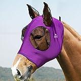 Harrison Howard Stretch Horse Fly Mask Weiches Netz mit Ohr