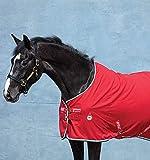 Horseware Amigo Stable Sheet - Red/White, Größe:145