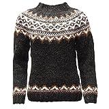 ICEWEAR Brynja Pulli aus 100% isländischer Wolle mit rundem Halsausschnitt
